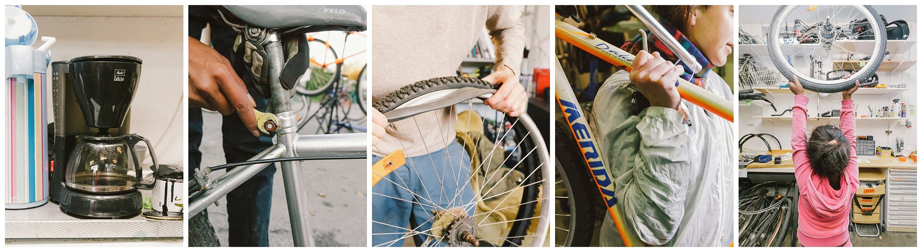 Bagarmossens cykelkök cykelverkstad